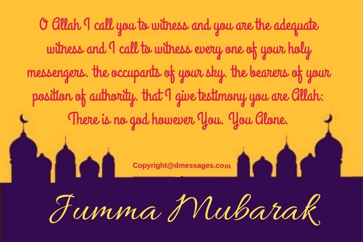 250+ Beautiful Jumma Mubarak Wishes Messages - SMS - Quotes
