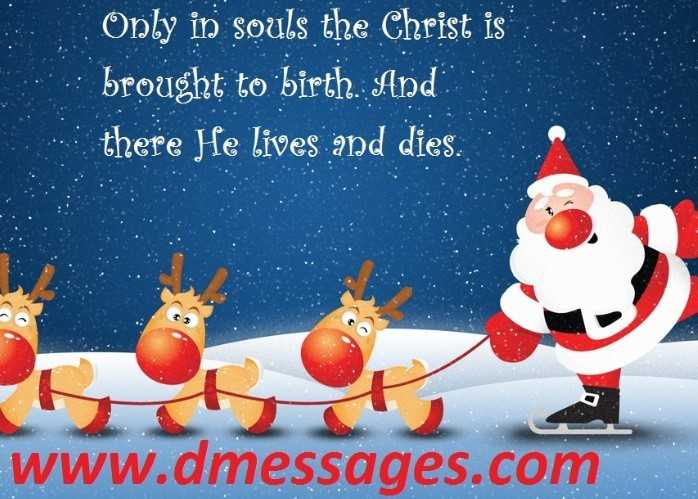 Religious Christmas messages