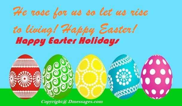 Short easter messages