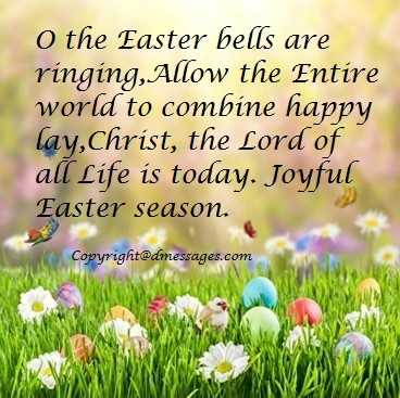blessed easter greetings