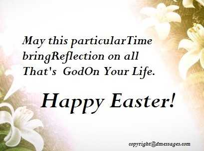 easter card wishes