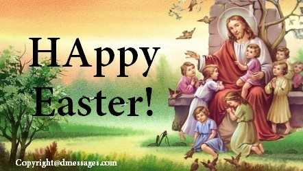 easter greetings for facebook