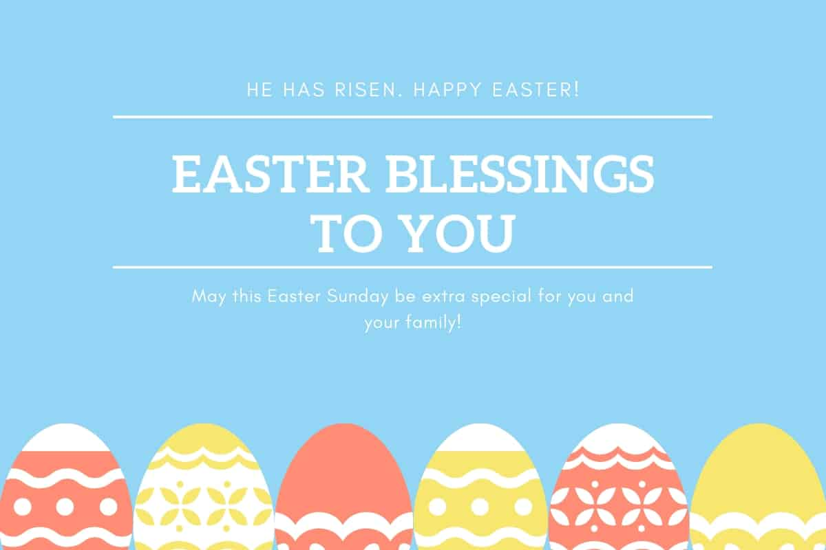 Photo of Happy Easter Greetings ~ Wishes, Messages | Easter Sayings and Quotes