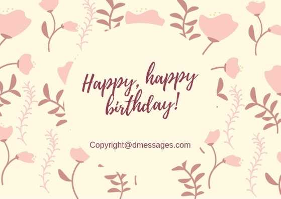 250+ Happy Birthday Wishes Messages SMS, Greetings, Quotes