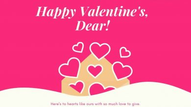 Photo of *Best* 185+ Happy valentine wishes Text Messages SMS Quotes 2020